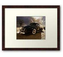 1940 Packard 110 Coupe Framed Print