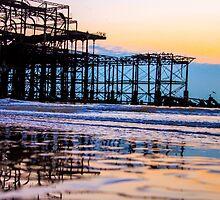 Brighton Low Tide #3 by Emma Bennett