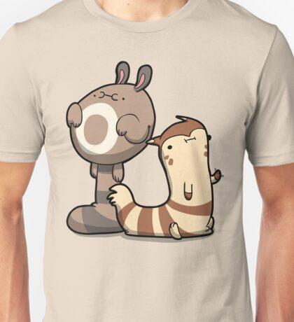 Furry Ferrets Unisex T-Shirt