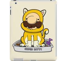 Super Meowrio! iPad Case/Skin
