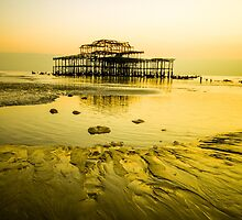 Brighton Low Tide #4 by Emma Bennett