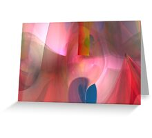 Abstract composition 48 Greeting Card