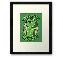 #!@$! yo' house! (Censored) Framed Print
