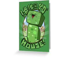 #!@$! yo' house! (Censored) Greeting Card