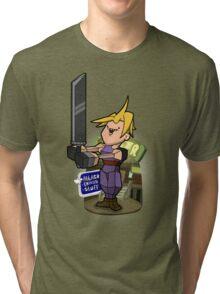 Low poly hero Tri-blend T-Shirt