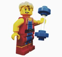 Lego Body Builder One Piece - Short Sleeve