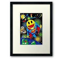 SMILEYMAN Framed Print