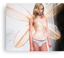 karlie corset and wings Canvas Print