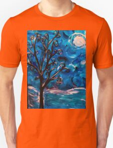 tree in the wind (light reflect) Unisex T-Shirt