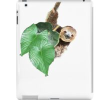 Jungle sloth iPad Case/Skin