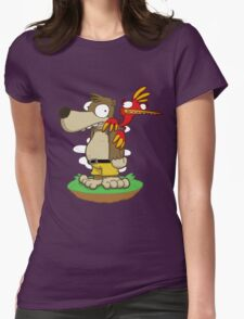 Banjer & Kazooper! Womens Fitted T-Shirt