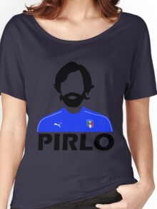 Pirlo Abstract Women's Relaxed Fit T-Shirt