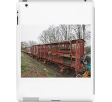 Sheep Transport Rail Wagon iPad Case/Skin