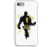 Black Adam Splatter Art iPhone Case/Skin