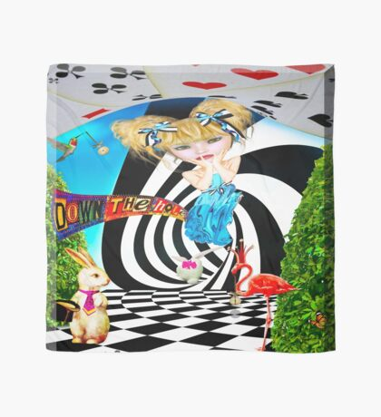 Alice in Wonderland scarf Scarf