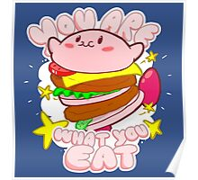 You are what you eat! Poster