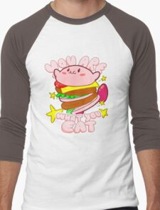 You are what you eat! Men's Baseball ¾ T-Shirt