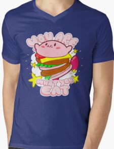 You are what you eat! Mens V-Neck T-Shirt