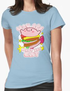 You are what you eat! Womens Fitted T-Shirt