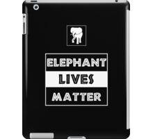 Elephant Lives Matter iPad Case/Skin