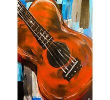 guitar (warm) Photographic Print