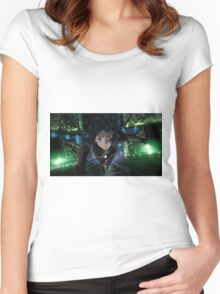 ghost in the shell Women's Fitted Scoop T-Shirt