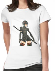 ghost in the shell Womens Fitted T-Shirt