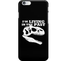 Living in the Past with Allosaurus iPhone Case/Skin