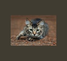 Tabby Kitten Ready To Pounce Unisex T-Shirt