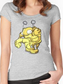 Exterminate... Please...? Women's Fitted Scoop T-Shirt