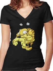 Exterminate... Please...? Women's Fitted V-Neck T-Shirt