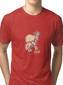 VINTAGE PONY Tri-blend T-Shirt