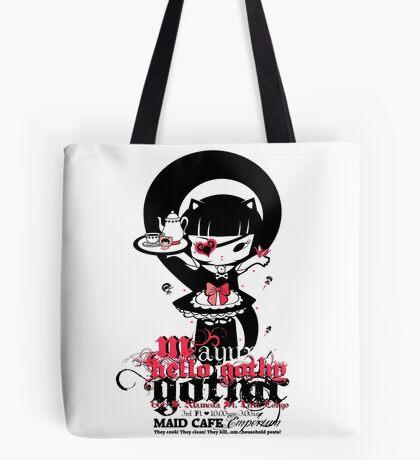 Meido Cafe Tote Bag
