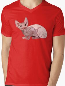 Sphynx Cat  Mens V-Neck T-Shirt
