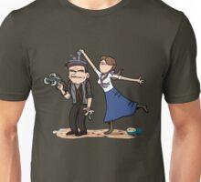 Damnit Elizabeth, stop trying to drown Mr. Dewitt. Unisex T-Shirt