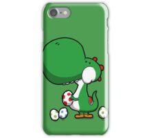 Egg Chuckin' Dinosaur iPhone Case/Skin