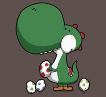 Egg Chuckin' Dinosaur Baby Tee