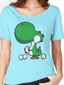 Egg Chuckin' Dinosaur Women's Relaxed Fit T-Shirt