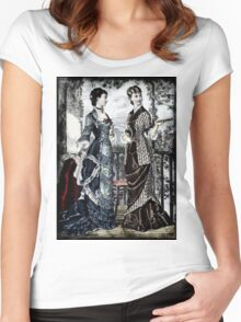 FASHIONABLE LADIES VINTAGE 42 Women's Fitted Scoop T-Shirt