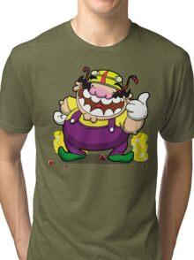 Greedy loveable fatso! Tri-blend T-Shirt