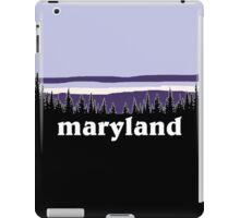Purple Maryland iPad Case/Skin