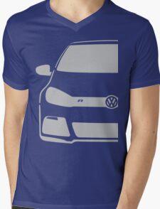 VW MK6 R Mens V-Neck T-Shirt
