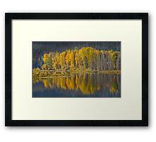 Autumn in the Tetons Framed Print