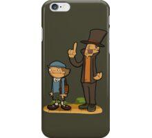 A true gentleman! iPhone Case/Skin