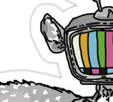 Television Deer Sticker