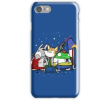 I see 'em up ahead. Let's rock 'n' roll! iPhone Case/Skin