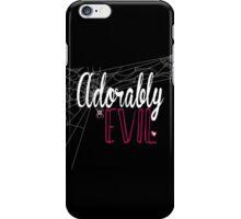 """WWE FORMER DIVA AJ LEE """"ADORABLY EVIL"""" iPhone Case/Skin"""