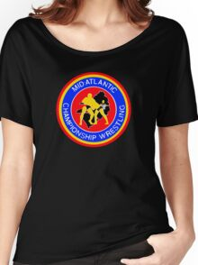 Mid Atlantic Championship Wrestling Classic Pro Women's Relaxed Fit T-Shirt