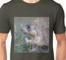 Black-tailed Prairie Dog in Meadow Unisex T-Shirt