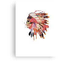 Indie skull Canvas Print